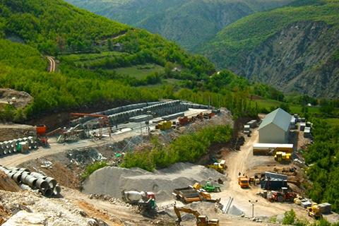 """HPP """"LURA 2"""", PESHKOPI, ALBANIA"""